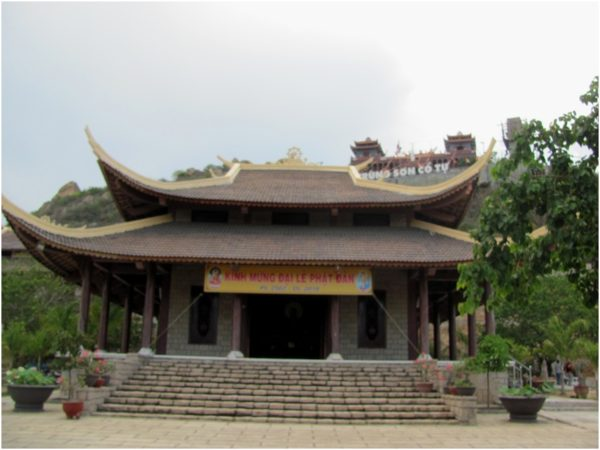 Пагода Trung Son Co Tu в Фанранге