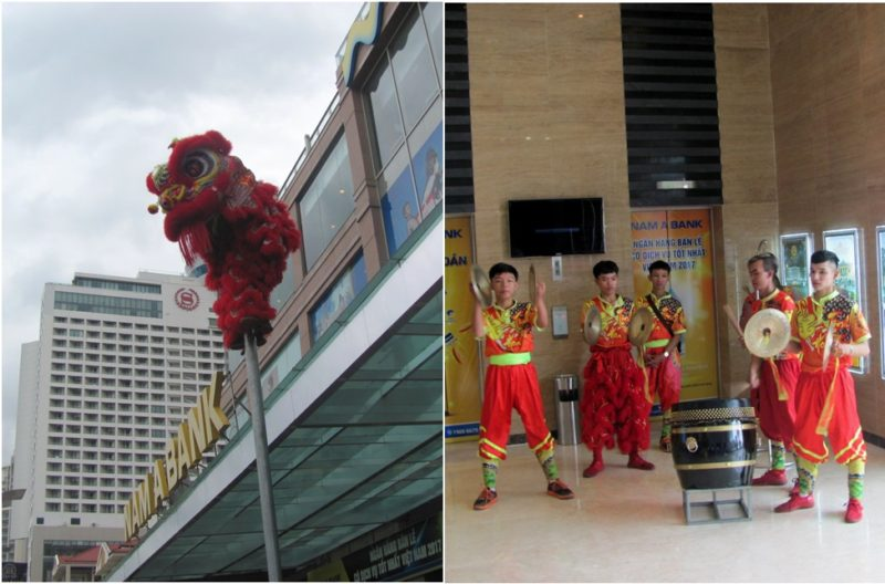 Танец Дракона во вьетнамский Новый год (Тет) - как счастье приманишь, так год и проживешь