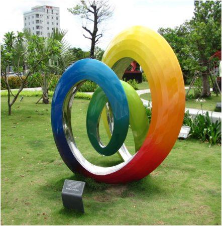 Парк стран-участниц саммита АТЭС-2017 в Дананге