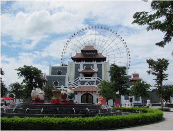 Парк аттракционов Sun World в Дананге
