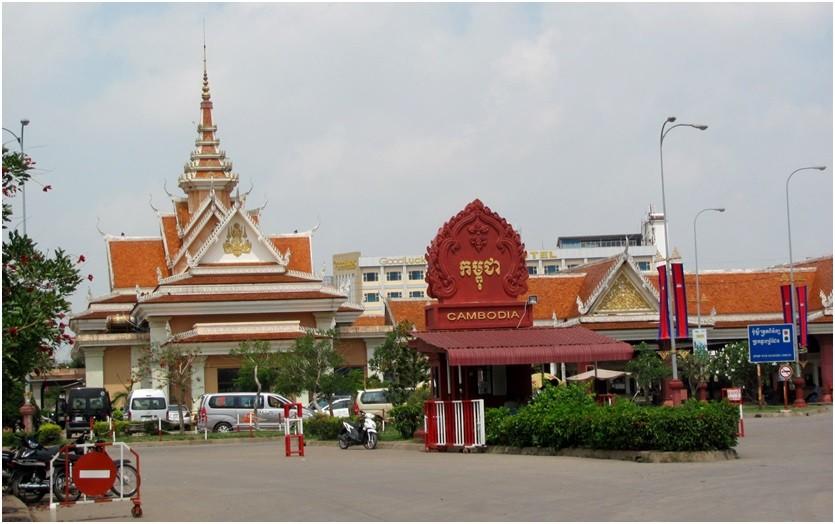Пограничный пункт Камбоджи Бавет