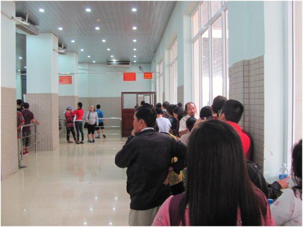 Переход вьетнамской границы на Мок Бай