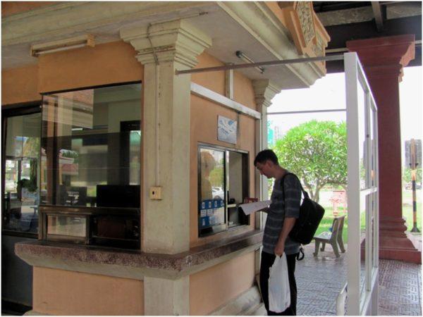 Выезд из Камбоджи в пункте Бавет