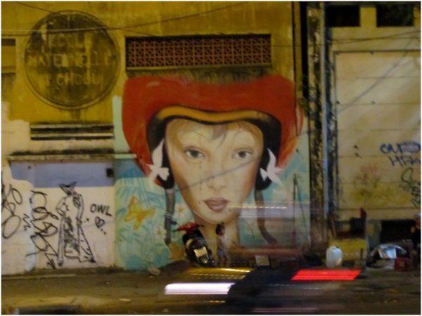Граффити в Хошимине