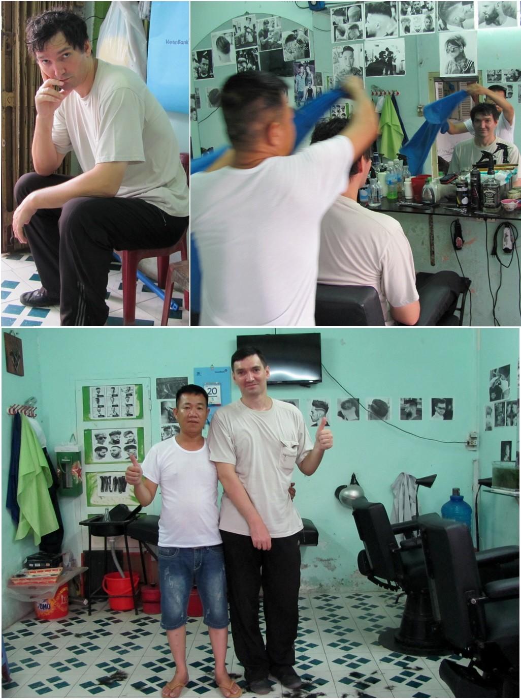мужская парикмахерская в Нячанге