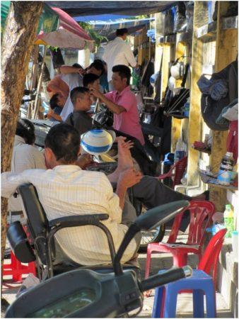 парикмахерские Нячанга на улице