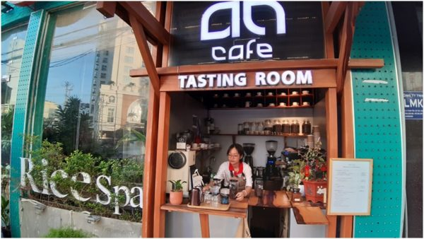 AN Cafe tasting room