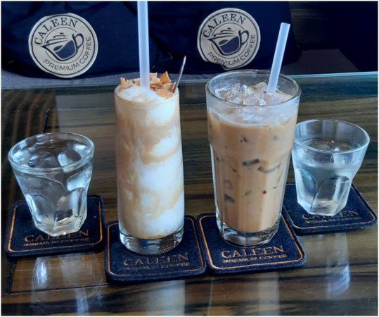 Coconut coffee, кокосовый кофе в Caleen
