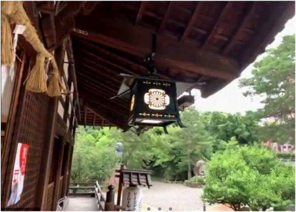Онлайн-прогулка по храму в Японии